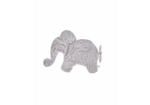 Dimpel Dimpel Cuddle Cloth XL Oscar Light Grey Moppie