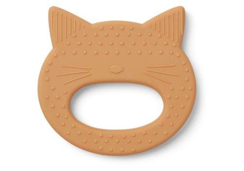Liewood Liewood Teether Gemma Cat Mustard