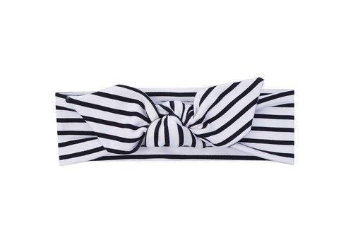 UL&Ka UL&Ka Headband Black With Stripes