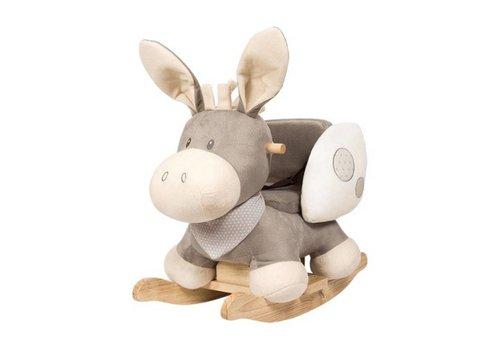 Nattou Nattou Rocking Horse Cappucino Donkey