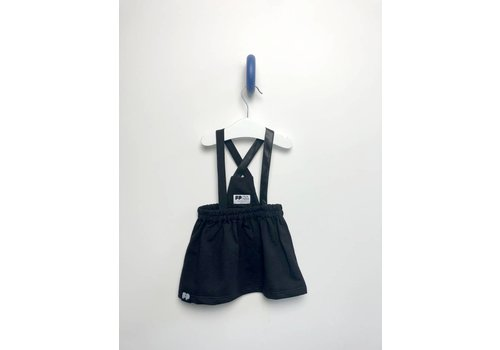 From Paris From Paris Rok Leather Strap Black