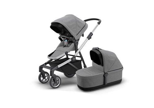 Thule Thule Sleek Stroller + Bassinet Grey Melange
