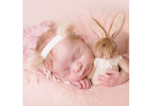 Cute Cute Cute Cute Haarbandje Teddy Ears Beige