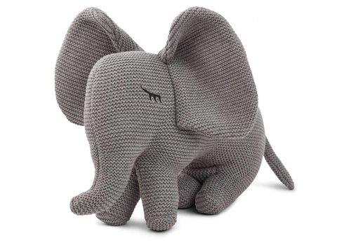 Liewood Liewood Knit Teddy Dextor Elephant Grey