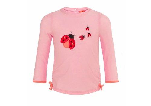 Sunuva Sunuva UV T-Shirt Ladybug Roze