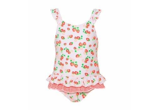 Sunuva Sunuva Swimsuit Strawberry White