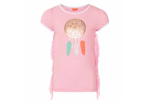 Sunuva Sunuva UV T-Shirt Feather Roze