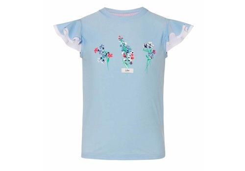 Sunuva Sunuva UV T-Shirt Floral Baby Blue