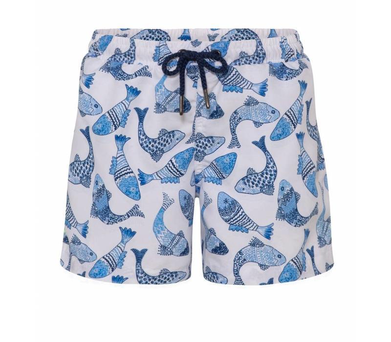 Sunuva Zwemshort Fish Blue