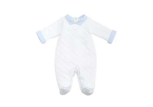 Laranjinha Laranjinha Pyjamas White Baby Blue