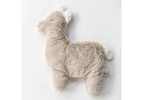 Dimpel Dimpel Knuffel Baby Alpaca Beige Grijs