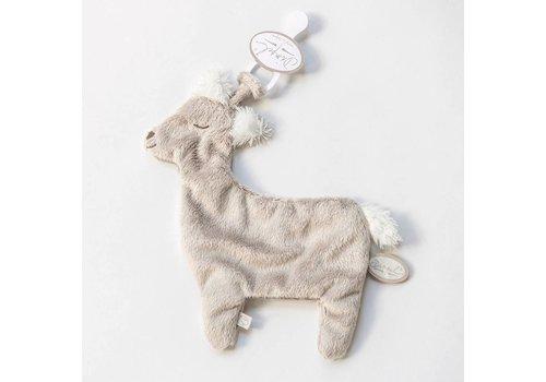 Dimpel Dimpel Doudou Tuttie Alpaca Beige Grijs