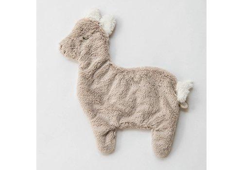 Dimpel Dimpel Knuffeldoek Alpaca Beige Grijs