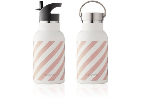 Liewood Liewood Anker Water Bottle Stripe Rose