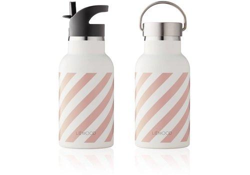 Liewood Liewood Thermische Drinkfles Stripe Rose - Creme De La Creme