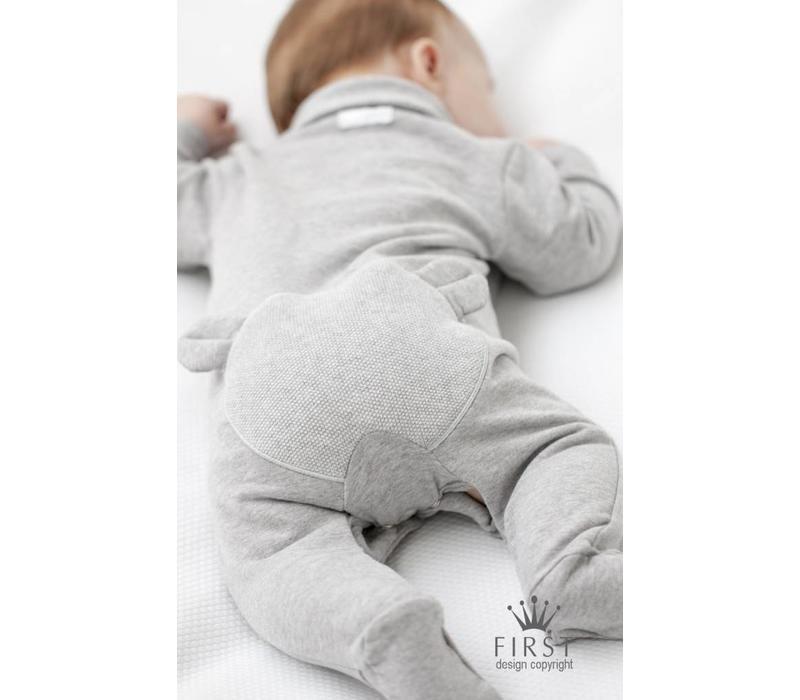 My First Collection Pyjama Grijs Met Beertje