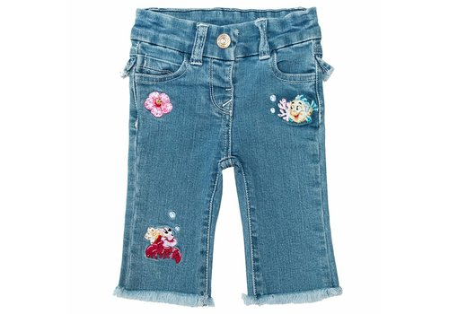 Monnalisa Monnalisa Jeansbroek Little Mermaid