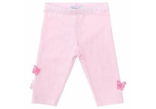 Monnalisa Monnalisa Legging Pink Butterfly
