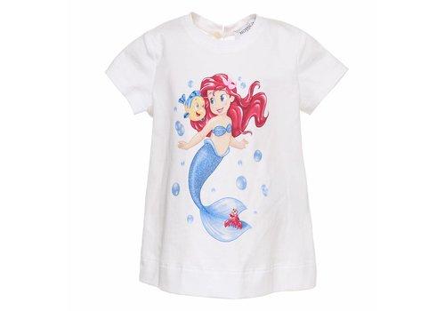 Monnalisa Monnalisa T-Shirt Little Mermaid Sea Wit