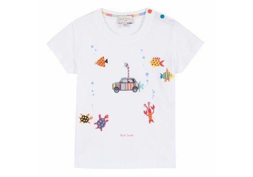 Paul Smith Paul Smith T-Shirt Underwater White
