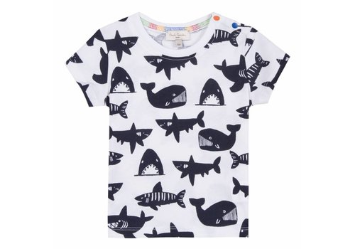 Paul Smith Paul Smith T-Shirt White Sharks