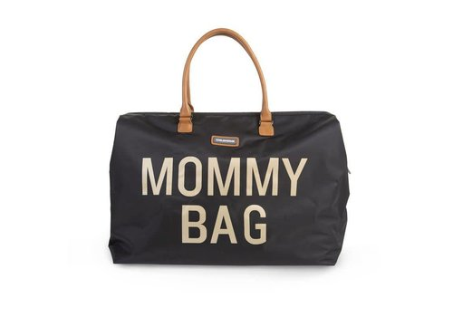 Childhome Childhome Mommy Bag Groot Black Gold