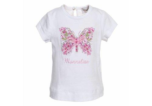 Monnalisa Monnalisa T-Shirt Butterfly Bow
