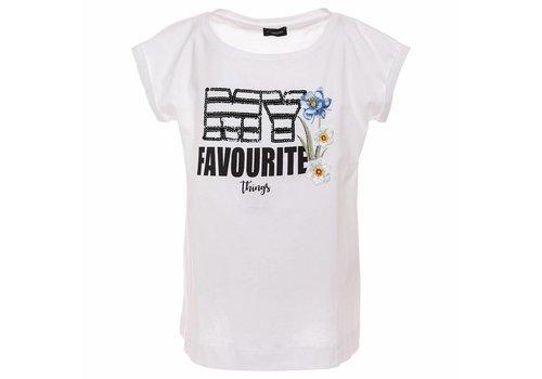 Monnalisa Monnalisa T-Shirt My Favourite White