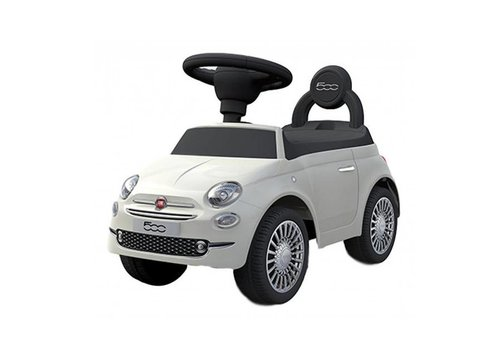 Happy Car Happy Car Loopauto Fiat 500 White