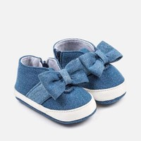 Mayoral Slip on Schoen Denim Bow
