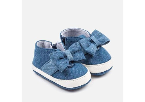 Mayoral Mayoral Slip on Shoe Denim Bow