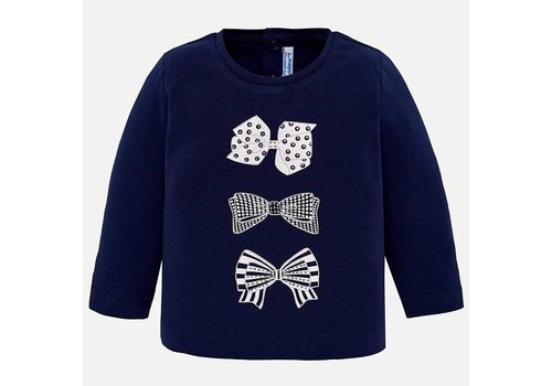 Mayoral Mayoral T-Shirt Bows Navy