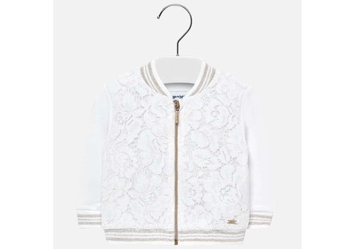 Mayoral Mayoral Sweater Lace White