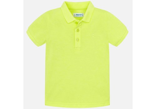 Mayoral Mayoral Polo Neon Yellow