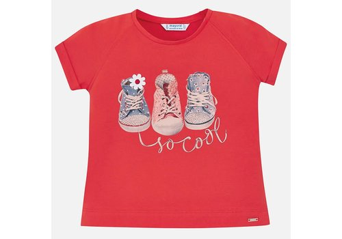 Mayoral Mayoral T-Shirt Shoes Persimmon
