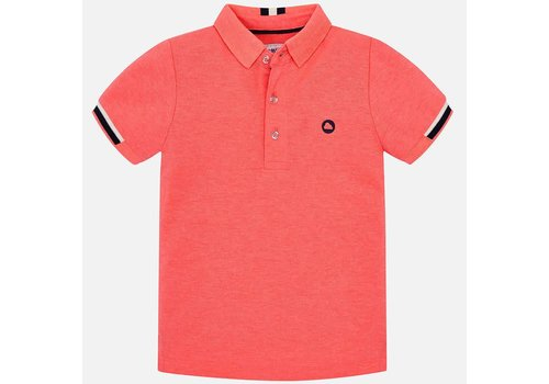 Mayoral Mayoral Polo Neon Salmon