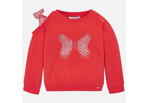 Mayoral Mayoral Pullover Butterfly Persimmon