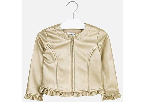 Mayoral Mayoral Jacket Ruffle Golden