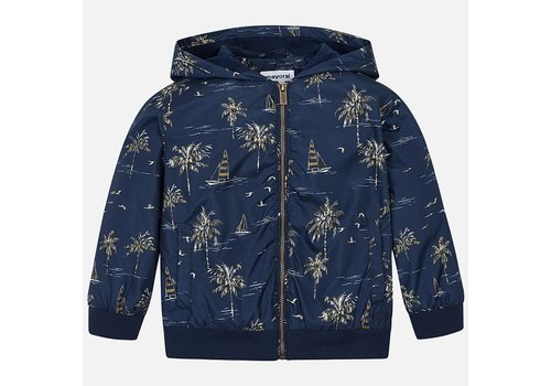 Mayoral Mayoral Jacket Summer Print Blue