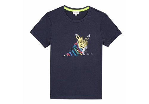 Paul Smith Paul Smith T-Shirt Zebra Dark Sapphire