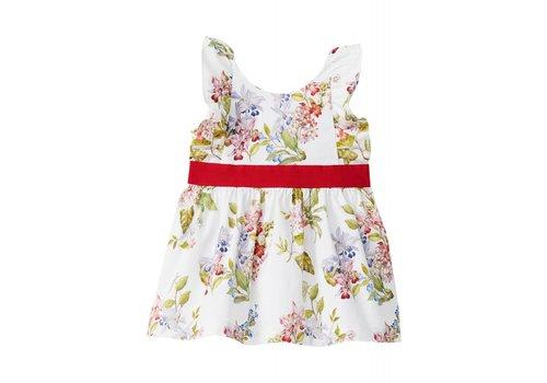 Liu Jo Liu Jo Kleedje Flowers Rood - Wit