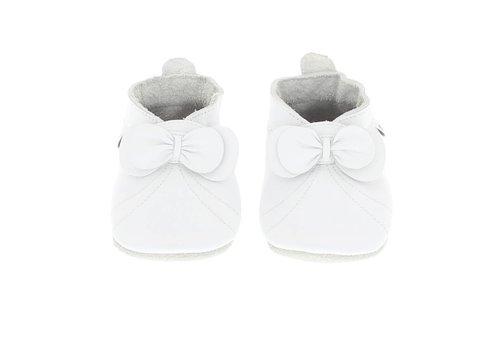 Bobux Bobux Baby Shoes Bow White