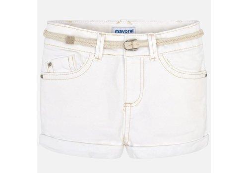 Mayoral Mayoral Basic Short With Belt Natural
