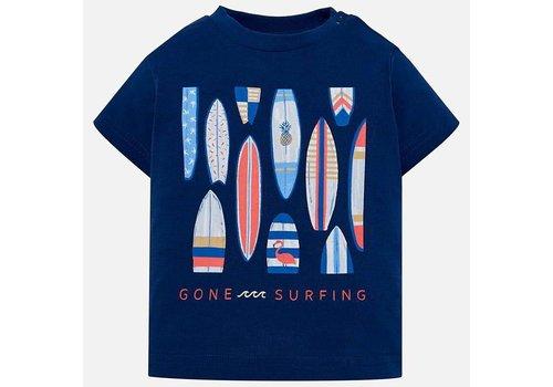 Mayoral Mayoral T-Shirt Surfing Steel Blue