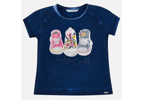 Mayoral Mayoral T-Shirt Shoes Nautical