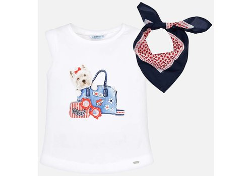 Mayoral Mayoral Tank Top Dog White