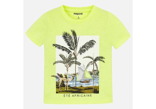Mayoral Mayoral T-Shirt Africaine Neon