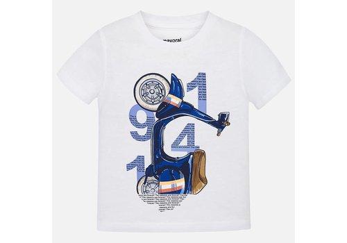 Mayoral Mayoral T-Shirt Vespa Blauw