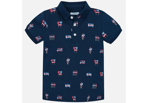 Mayoral Mayoral Polo Icons Blauw