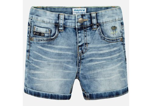 Mayoral Mayoral Short Denim Palm Light